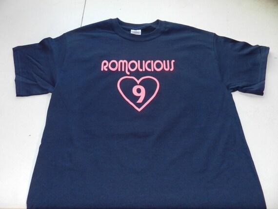 Tony romo romolicious dallas cowboys t shirt tee by for T shirt screen printing dallas tx