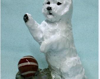 West Highland Terrier Figurine Collectible
