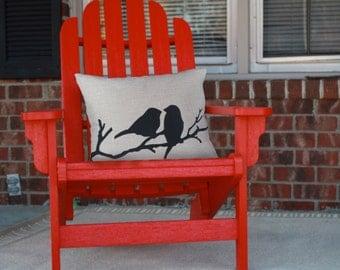 Bird Branch Pillow cover