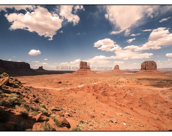 Monument Valley, Utah, Wall Art, Landscapes, American West, Clouds, Travel Photography