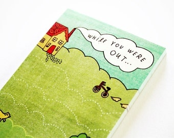 SALE: Message Center Notepad - Message Notepad - Office Gift - Office Supply Eco Friendly Notepad Stationery