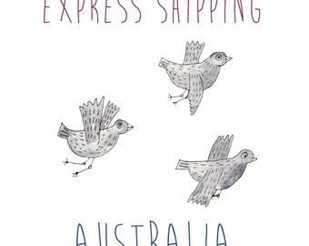 Express Shipping Within Australia
