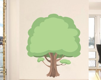 Extra Large Whimsical Tree - Vinyl Wall Decal