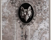 The Huntress - Medieval Werewolf Hunter Statement Necklace - auralynne