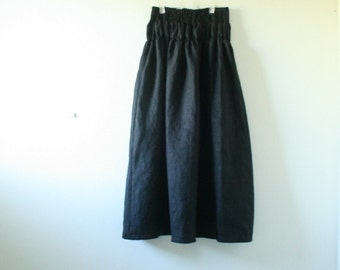 WOOL SKIRT - e / maxi skirt / long wool skirt / womens winter clothing / plus size clothing / made in australia by pamelatang