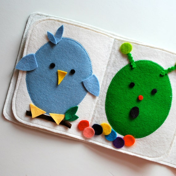 Felt Creative Play Book--Design Your Own Egg Heads and Creatures