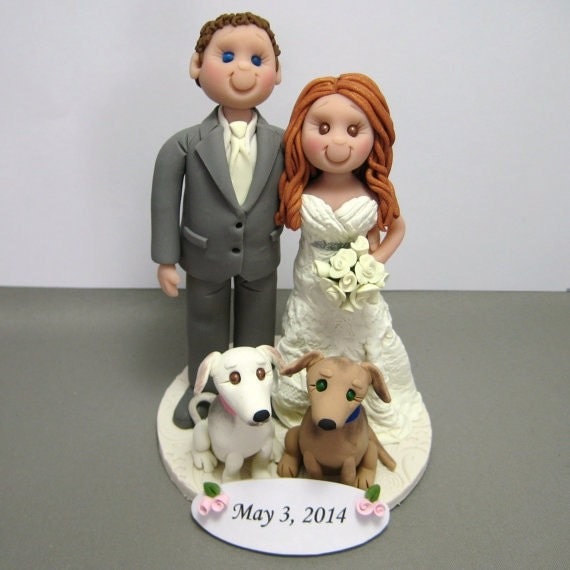 clay wedding cake toppers deposit for custom made polymer clay wedding cake topper 12879