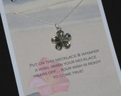 Plumeria Flower Wish Necklace - Buy 3 Items, Get 1 Free