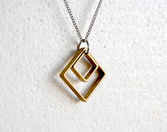 Squares Necklace - FREE US Shipping