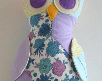 Reduced Vintage Owl
