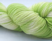 Superwash Sock Yarn in Iceberg Lettuce colorway