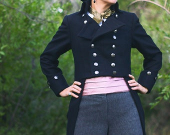 Amazing Double-Breasted Tailcoats---For Women