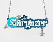 Stargazer Necklace - Laser Cut Necklace (C.A.B. Fayre Original Design)