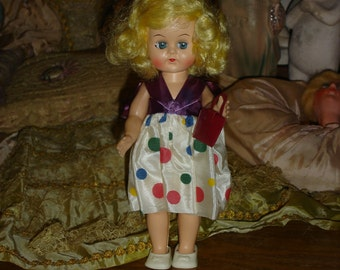 Sweet Little Vintage Ginny Type Walker Doll