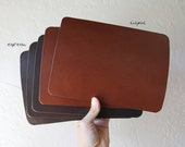 Leather Mouse Pad // Tablet Mat // iPad Air or Mini