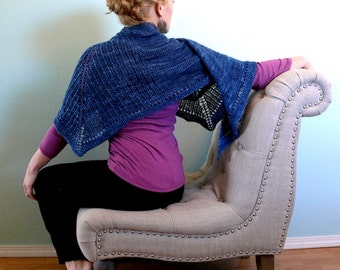 KNITTING PATTERN- Corridor Shawl PDF Download