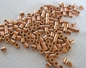 Solid Copper Crimp Tube Beads 2mm 100pc Heavy Wall Best Quality