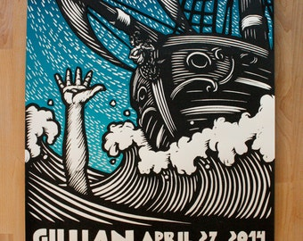 Gillian Welch (Throw Me A Rope) Gigposter