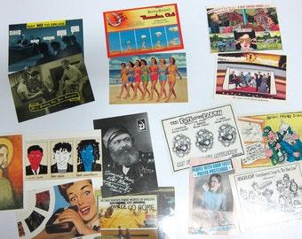 15 assorted postmodern postcards