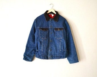 1970's Imperial Blue Denim Jacket...