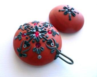 Portuguese Knitting Pin, Magnetic Portuguese Knitting Pin, Handmade Knitting Pin, Knitting Hook