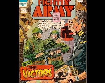 Fightin' Army No. 108 - Modern Comic Book c. 1977