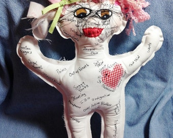 Ache and Pain Doll Perfect for birthdays, retirements, nurse, doctor, lawyer, senior citizen, milestone dates, personalize, or save yours..