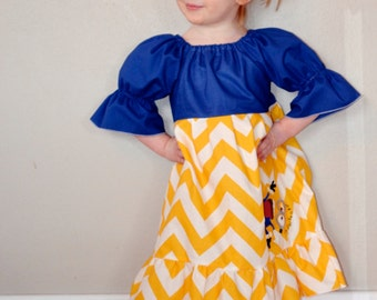 Minion Dress 12 months - 3t - Product ID #MDPLAY100
