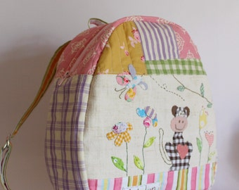 MADE TO ORDER applique backpack