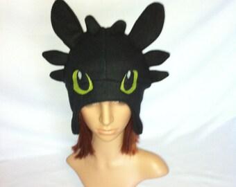 Toothless Night Fury Fleece Hat