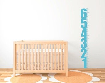 Centimeter Growth Chart Wall Decal  DB332