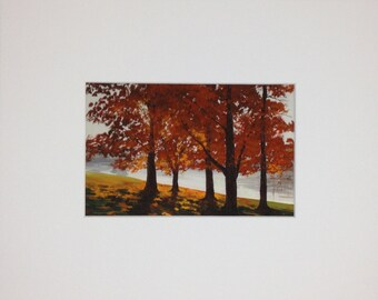 Morning in the Park - Print