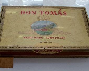 Don Tomas Cigar Box (Code a)