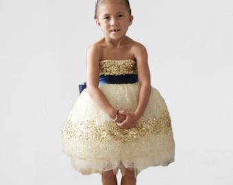 The Constellation Flower Girl Dress