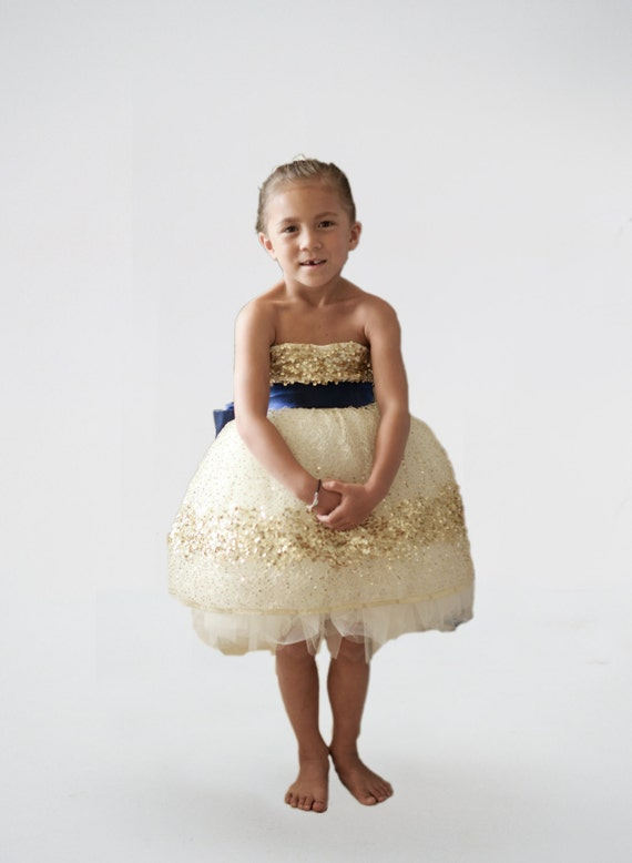The Constellation Flower Girl Dress