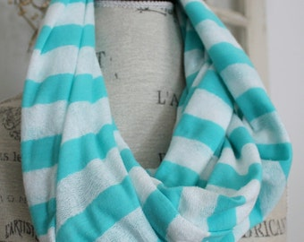 summer stripes infinity scarf