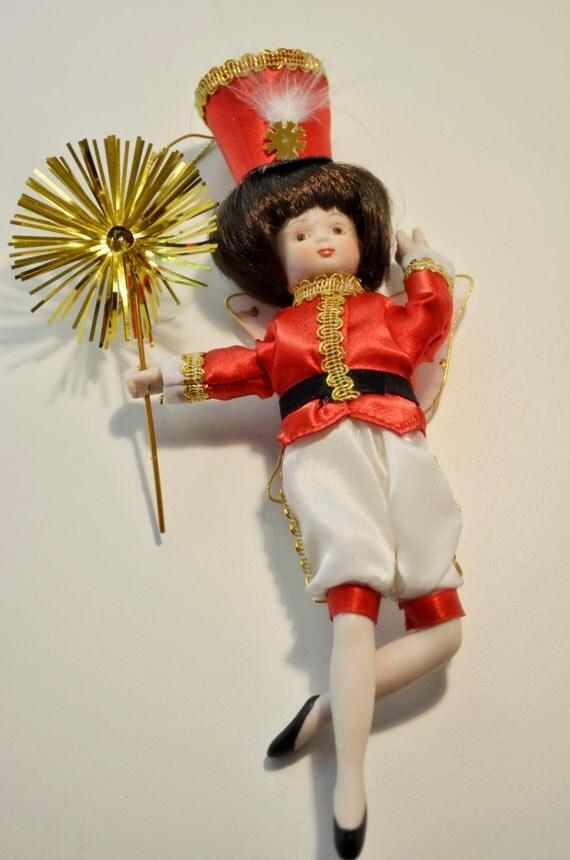 Vintage Christmas Ornament Collectors Club Soldier Fairy