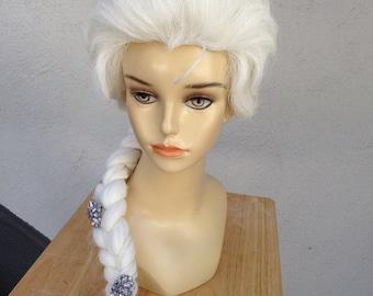 Elsa Frozen Adult Costume Wig Version 1 - A True Enchantment Original