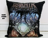 Arkaik Pillow #1 DIY Death Metal Decor (Cover Only)