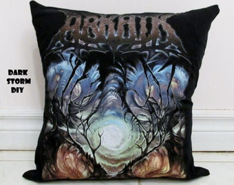 Arkaik Pillow #1 DIY Death Metal Decor (Cover Only)