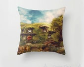 The Shire Cushion Cover, My Dream Hobbit House Pillow Slip