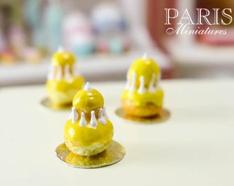 Mango Religieuse - Miniature French Pastry in 12th Scale