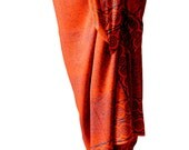 Beach Sarong Swimwear Sarong Pareo Wrap Skirt - Sarong Cover Up - Batik Pareo Swimsuit Cover Up - Beach Sarong Surfer or Swimmer Gift