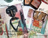 workshop Collage Art Bliss
