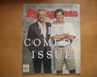 VINTAGE ROLLING STONE Comedy Issue