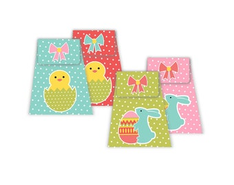 Easter Treat boxes -  Digital - instant download