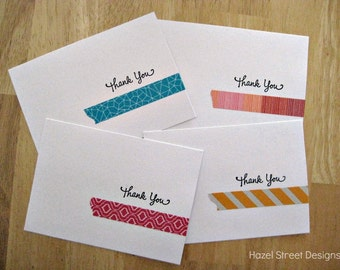Bright Thank You Cards - Set of 4