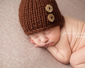 Newborn Boy Hat, Newborn Photo Prop, Newborn Hat, Newborn Girl Hat, Knit Newborn Hat, Newborn Beanie Boy, Newborn Photography Prop
