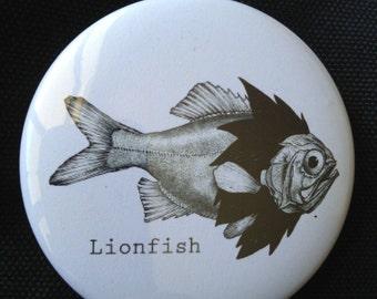 Lionfish Button