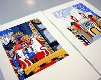 Nutcracker Collection - Four Original, Limited Ed. Screen prints - 10% OFF full set!